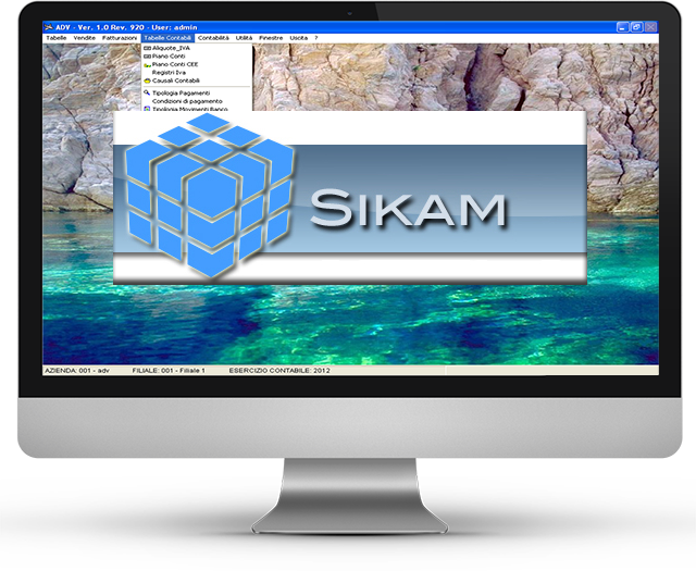 SIKAM monitor banner